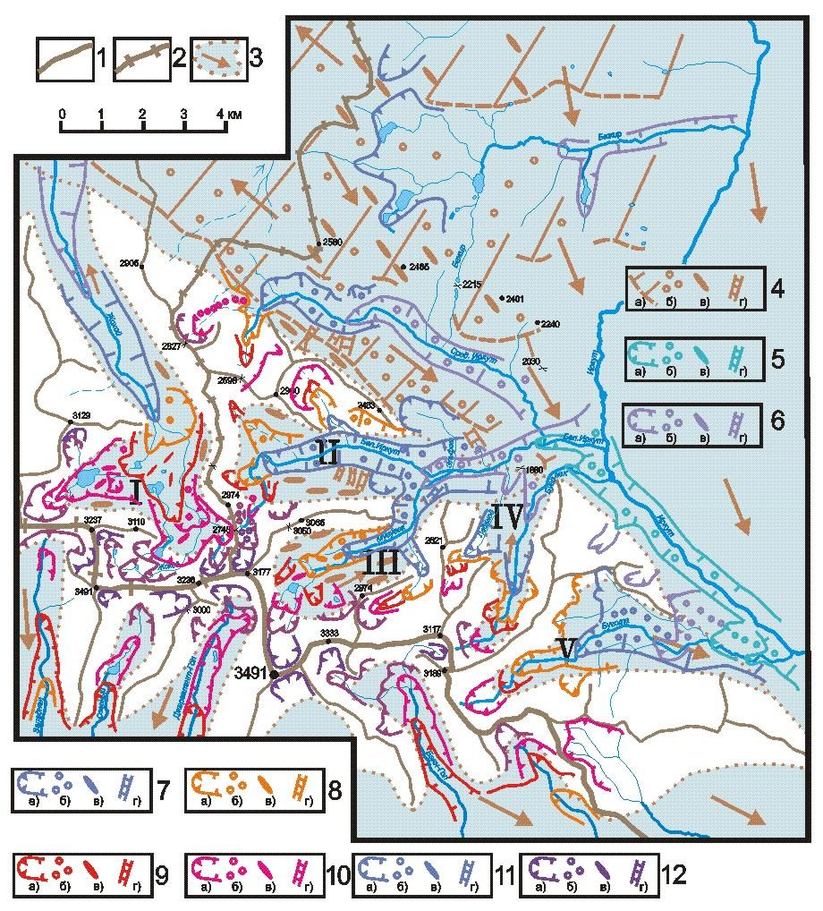 Гляциальные геоморфологические комплексы