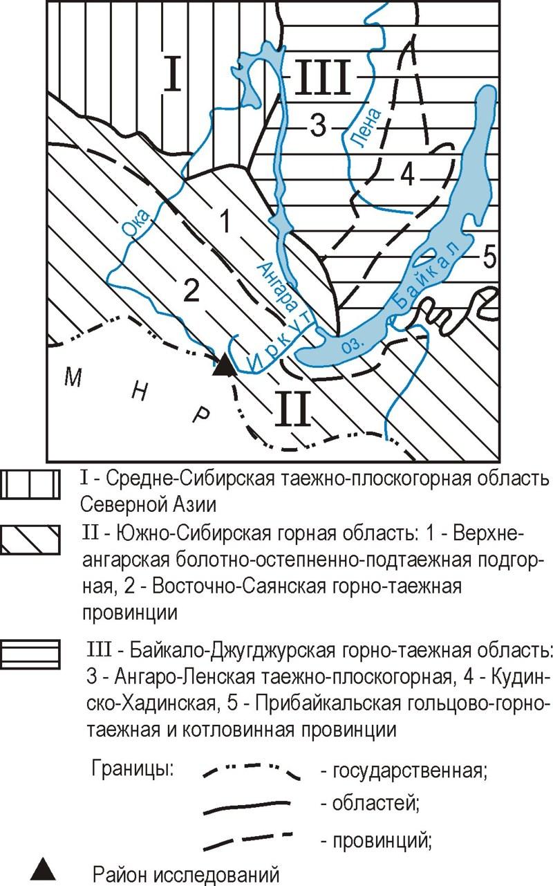Физгеографическое положение района