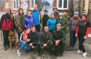 Участники экспедиции от клуба Портулан