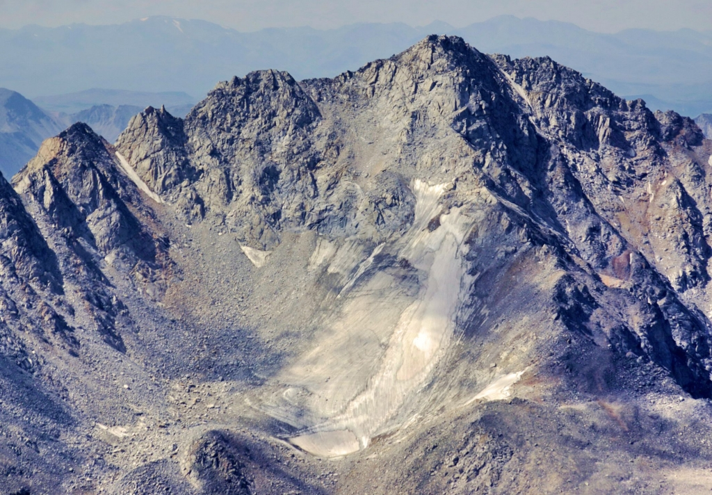 Фото ледника Пограничный, 2007 г.