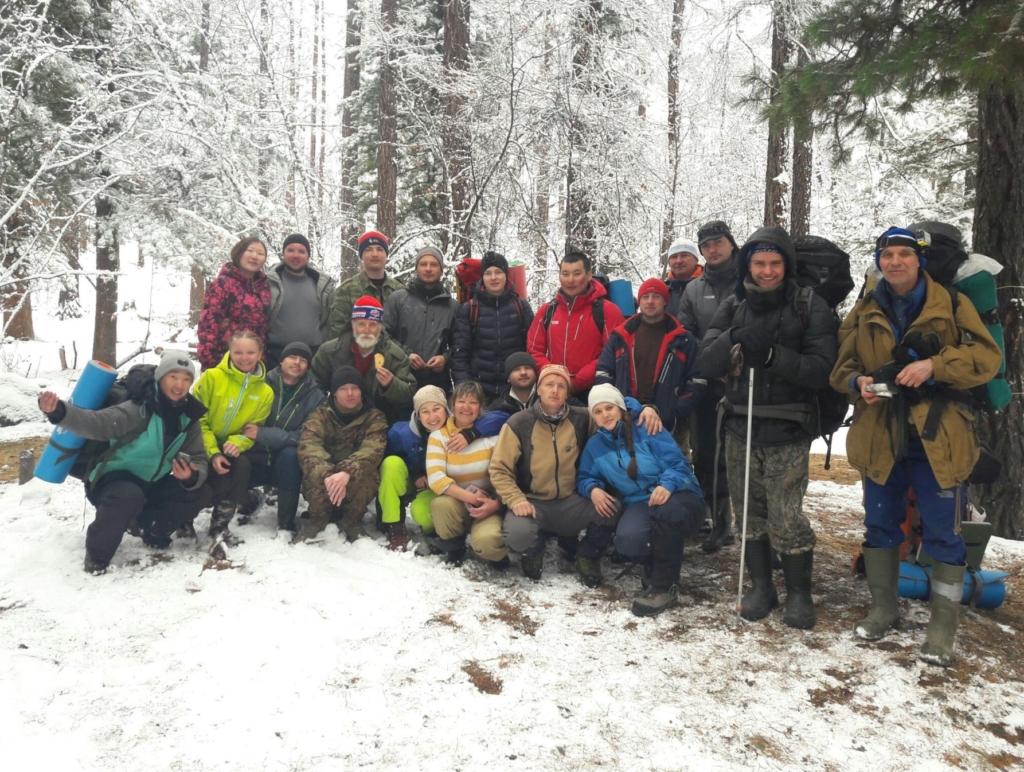 Фото участников экспедиции весной 2017 г.