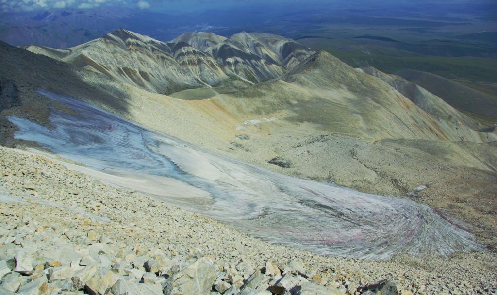 Фото ледника Южного с Мунку-Сардык