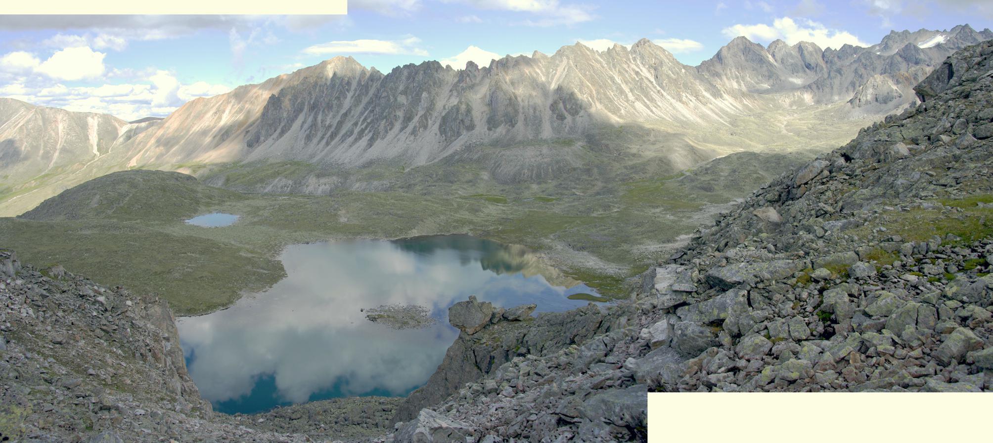 Панорама верховий р. Жохой
