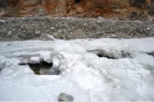Фото ледяного моста